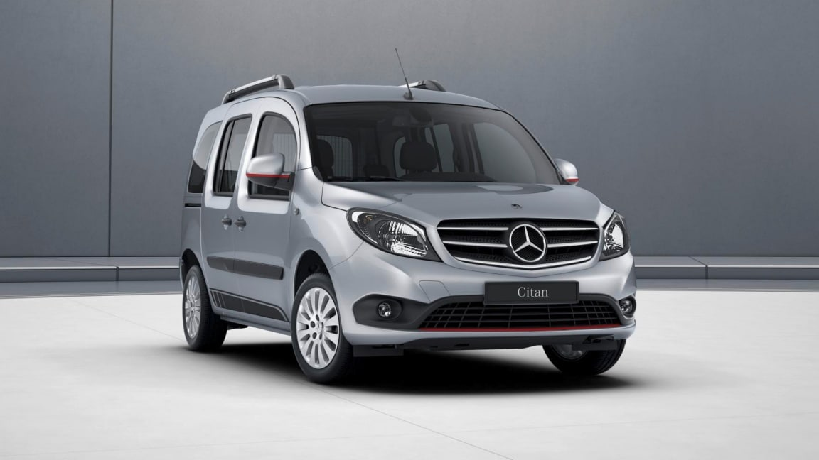 Citan Tourer, Pack Design RED